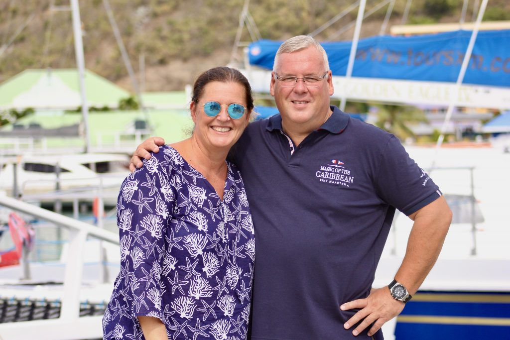 Picture of Angie & Thomas, Co-Founders of Magic Of The Caribbean