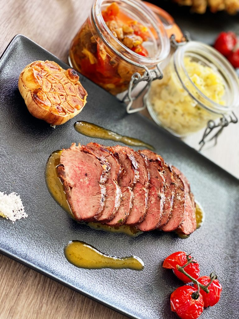 Duck Breast with Passion Fruit Sauce
